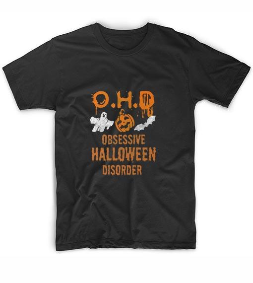 OHD Obsessive Halloween Disorder Funny